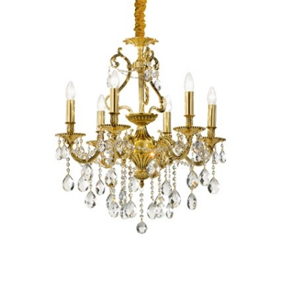 "Люстра Ideal Lux ""GIOCONDA SP8 ORO"""